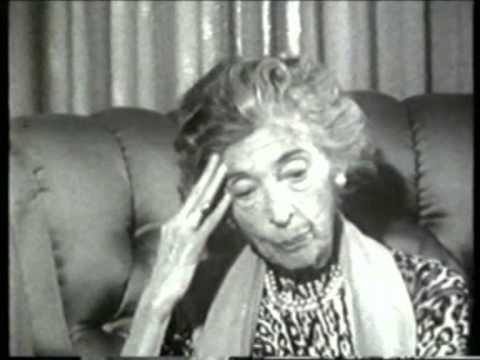 Fritzi Massary - Im Interview 1965 (IV) letzter Teil