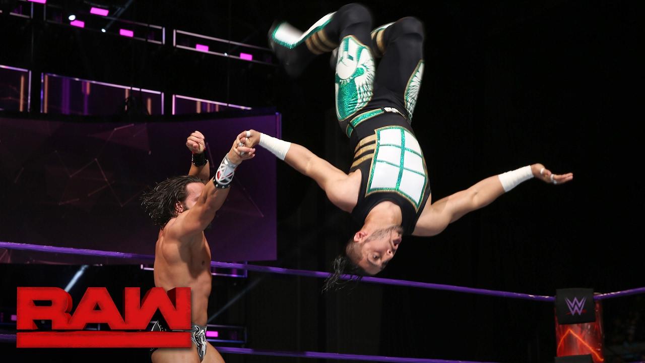 Download Mustafa Ali vs. Tony Nese: Raw, Jan. 30, 2017