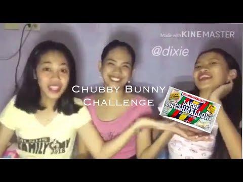 Chubby Bunny Challenge | Damay damay na to.
