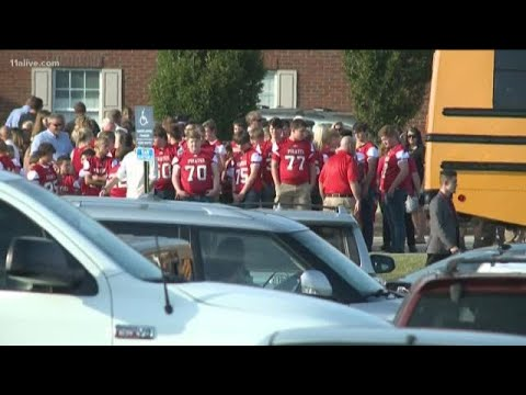 Pike County High School football player laid to rest