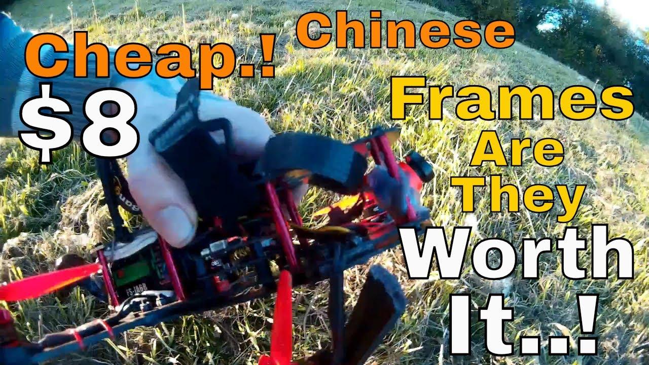 Cheap Chinese Carbon Fiber | 250mm Mini Quadcopter Frame | Review | Crash  Test
