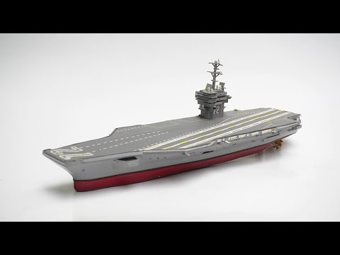 How to make Aircraft Carrier Paper Model Handmade - Paper Hands