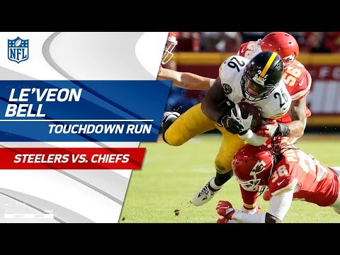 Le'Veon Bell Carries Pittsburgh for Huge TD Drive!   Steelers vs. Chiefs   NFL Wk 6 Highlights