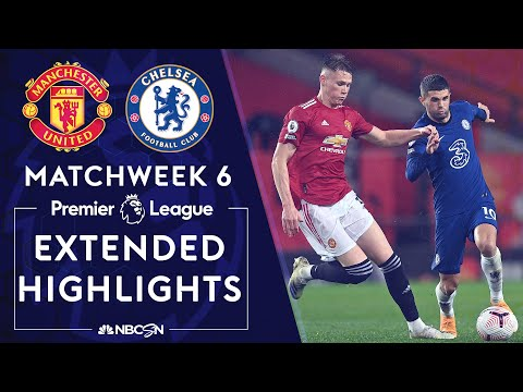 Manchester United v. Chelsea | PREMIER LEAGUE HIGHLIGHTS | 10/24/2020 | NBC Sports