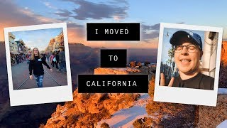 I MOVED TO CALIFORNIA ☀️
