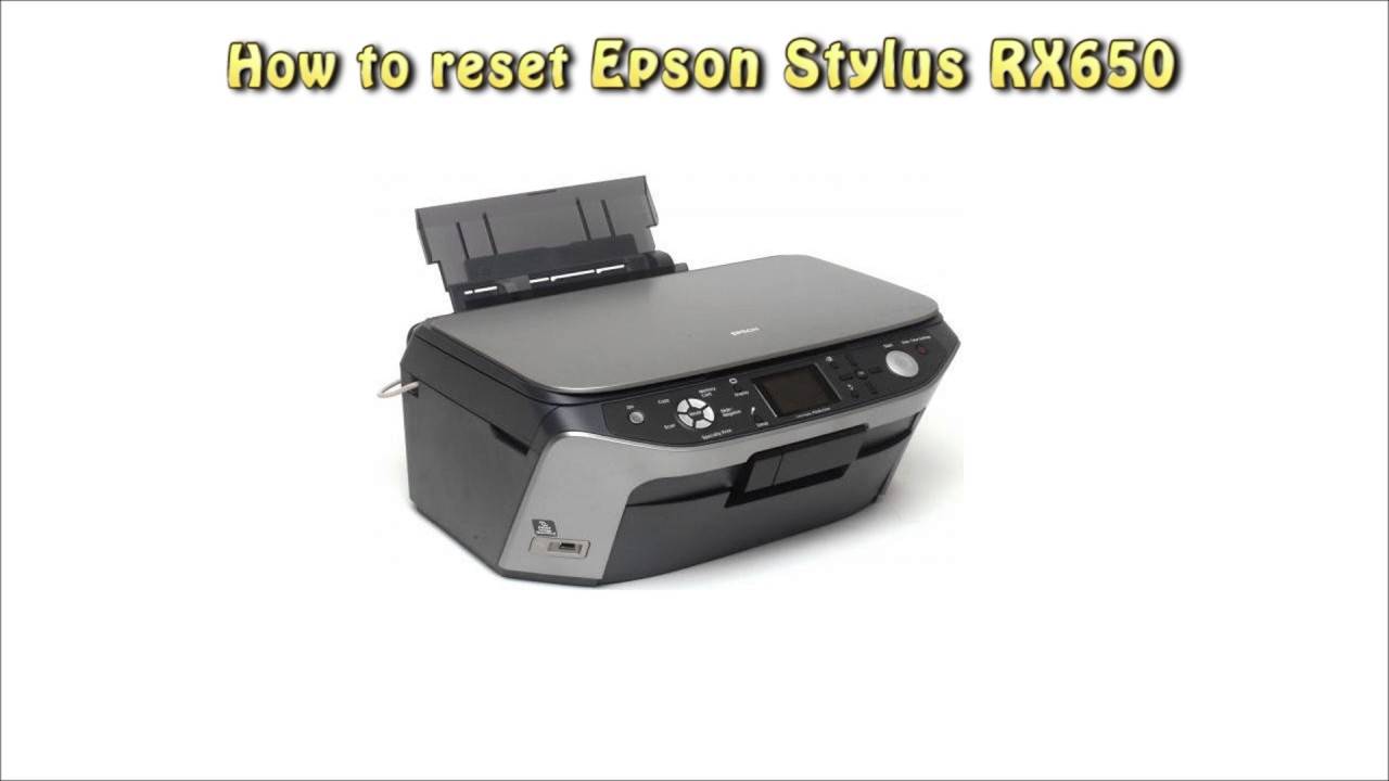 DOWNLOAD DRIVER: EPSON RX650