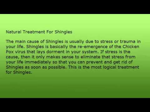 Natural Treatment For Shingles Pain And Instant Relief