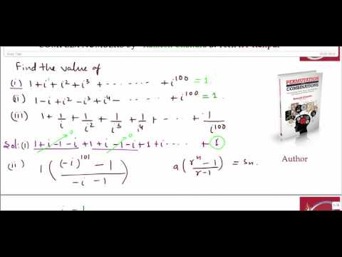 Complex Number Lecture - 1