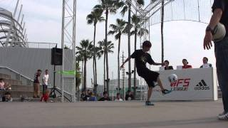 Freestyle Football WFSLeague Japan Final - RU vs TOKURA  top 8