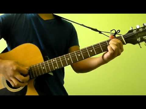 Here With Me - Dido - Easy Guitar Tutorial (No Capo) With Strumming Pattern