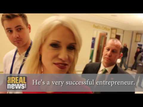 Kellyanne Conway Ignores Question About Billionaire Funder
