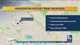 Henderson City Council to review proposal of building an ice arena