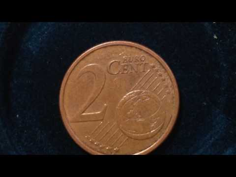 2 Euro Cent Coin- Italy- dated 2005
