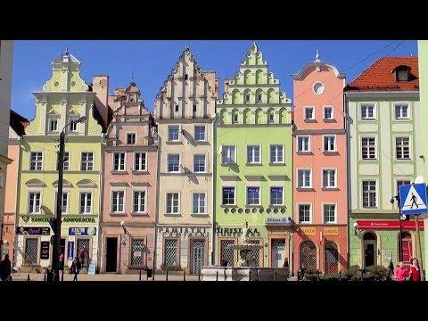 Nysa (Neisse, Nissa) Stare Miasto (Old Town), Polska Poland [HD] (videoturysta.eu)