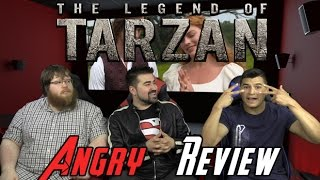 Legend of Tarzan Angry Movie Review
