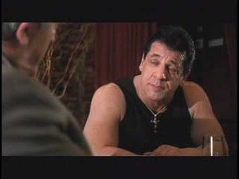Carlo (Frank Vincent) and Vinnie (Chuck Zito)