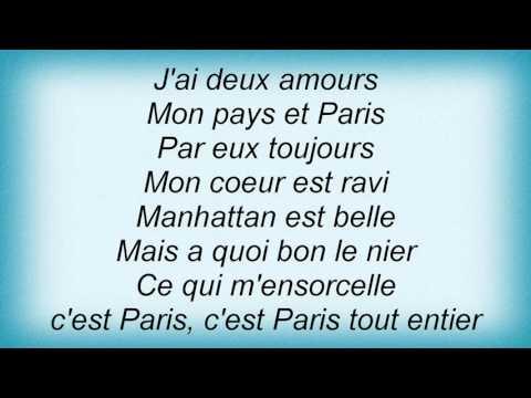 Madeleine Peyroux - J'ai Deux Amours Lyrics