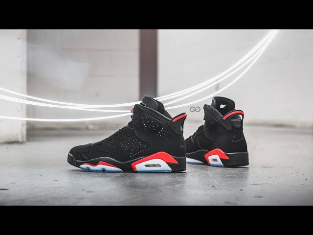 "6b1c9c88b7985b Air Jordan 6 Retro ""Black   Infrared"" Review – Sean Go"