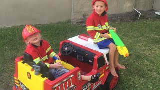 Kid Heroes 6 - The Litterer, The Police Car, and The New Fire Engine