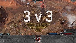 Dawn of War 2 - 3v3 | Nurland + Dark Riku + Swift [vs] Mahror + Eskettit + Flo