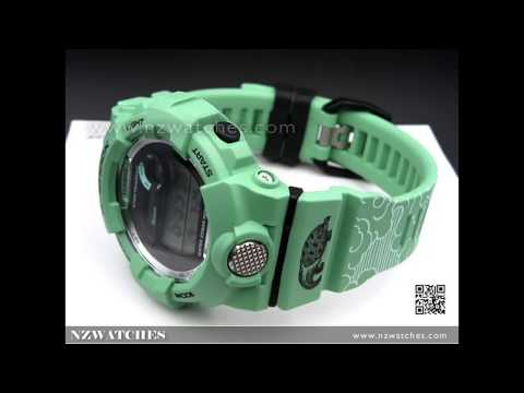 Casio G-Shock 7 Lucky Gods Shichi-Fuku-jin Ltd Watch GBD-800SLG-3, GBD800SLG