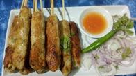 Chicken kabab - easy chicken kebab recipe