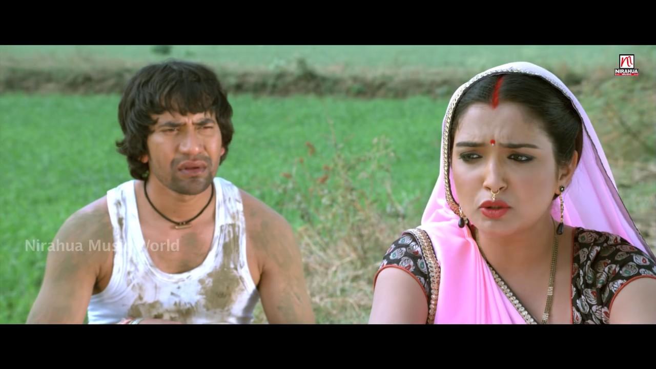Kora Mein Daba Ke Nirahua Hindustani Comedy Scene Dinesh Lal Yadav Nirahua Aamrapali