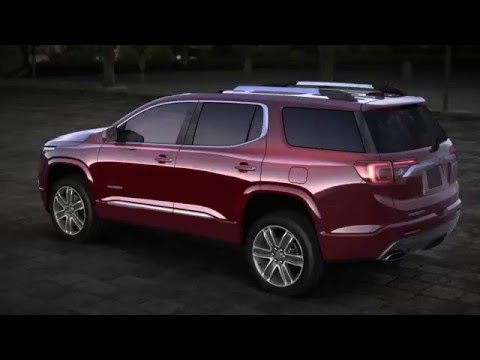 Introducing the All-New 2017 GMC Acadia