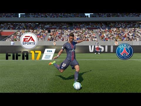 FIFA 17 Neymar e Dani Alves no PSG ? -PS4 PRO