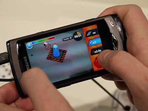 Игры на Samsung S8500 Wave