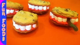 Cookie Teeth (halloween Treats)
