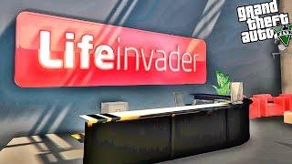 GTA 5 Моды: Карта - ОФИС LifeInvader В ГТА 5