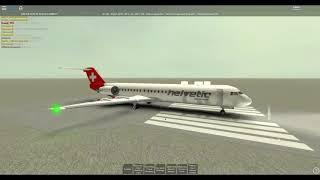 [ROBLOX] Onboard Helvetic Air Fokker 100