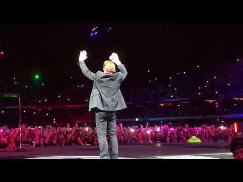 U2 - Beautiful Day  + Elevation + Vertigo - Live in Sao Paulo October 25, 2017