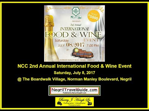 Negril Chamber of Commerce 2nd Annual Food and Wine Event 2017