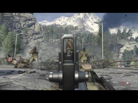 Call of Duty 4 Remasted killing Imran Zakhaev With Rpg