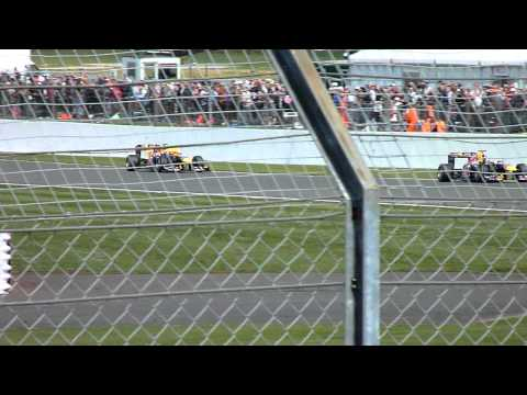 Formula 1 2011 British Grand Prix - Webber vs Vettel
