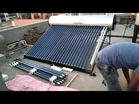 Solarwater Heater Installation