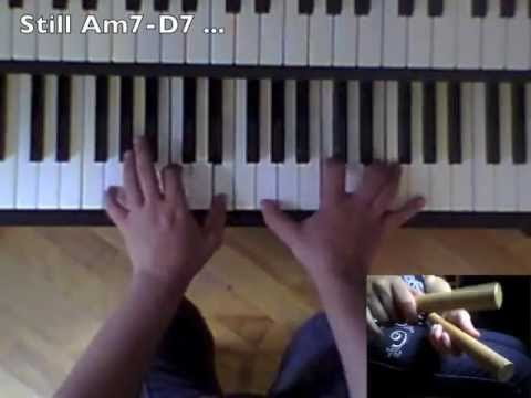 How to play Cha-cha-chá on the piano - Montuno Tutorial #5