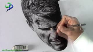 Speed drawing Nathan Drake -Uncharted-