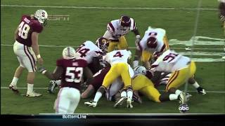 Stanford vs. USC-Andrew Luck Lays out Shareece Wright.mov