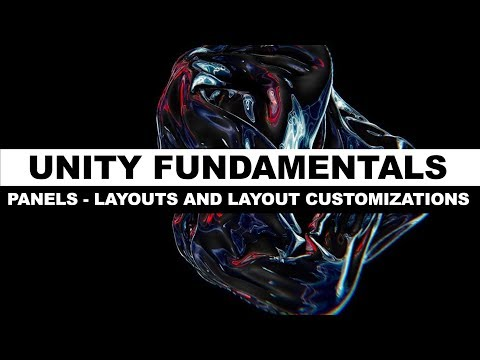 Unity3d Editor Tutorial on Panels, Layouts, and Customization of Layouts thumbnail