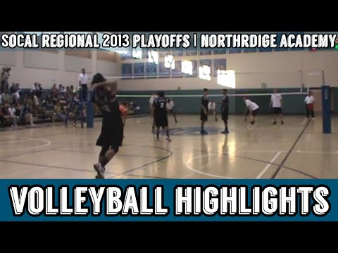 Northridge Academy Boys Volleyball 2013 First Round of SoCal Regionals | FOREVER AMY