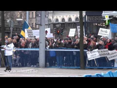 Folkets demonstration Norrmalmstorg 30 1 16 Stefan Torssell