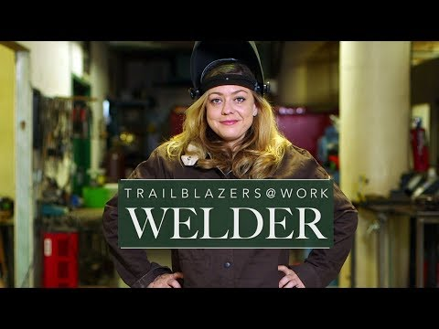 Female Welder Trains Others In Male-dominated Trade | ABC News