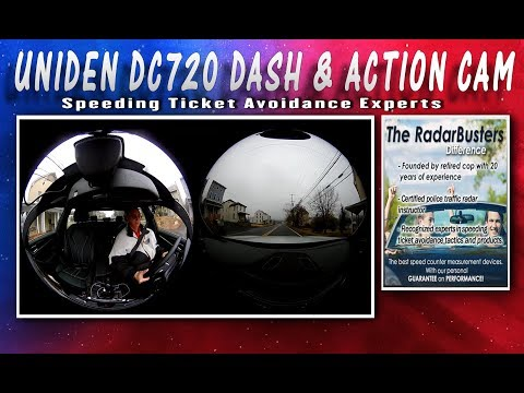 Uniden DC 720 Dash Action Cam Review