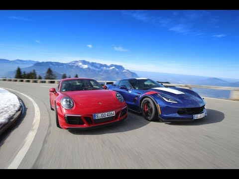 2017 chevrolet corvette grand sport vs 2017 porsche 911 for Mygw