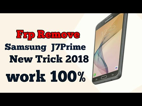 samsung j7 prime 7.0 google account bypass frp unlock New Tricks 2018 Galaxy