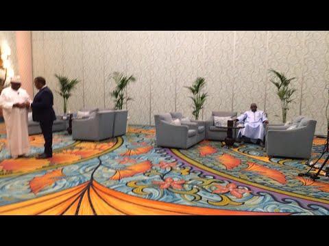 Le président Ibrahim Boubacar Keita au ICD Global Investment Forum of Dubai