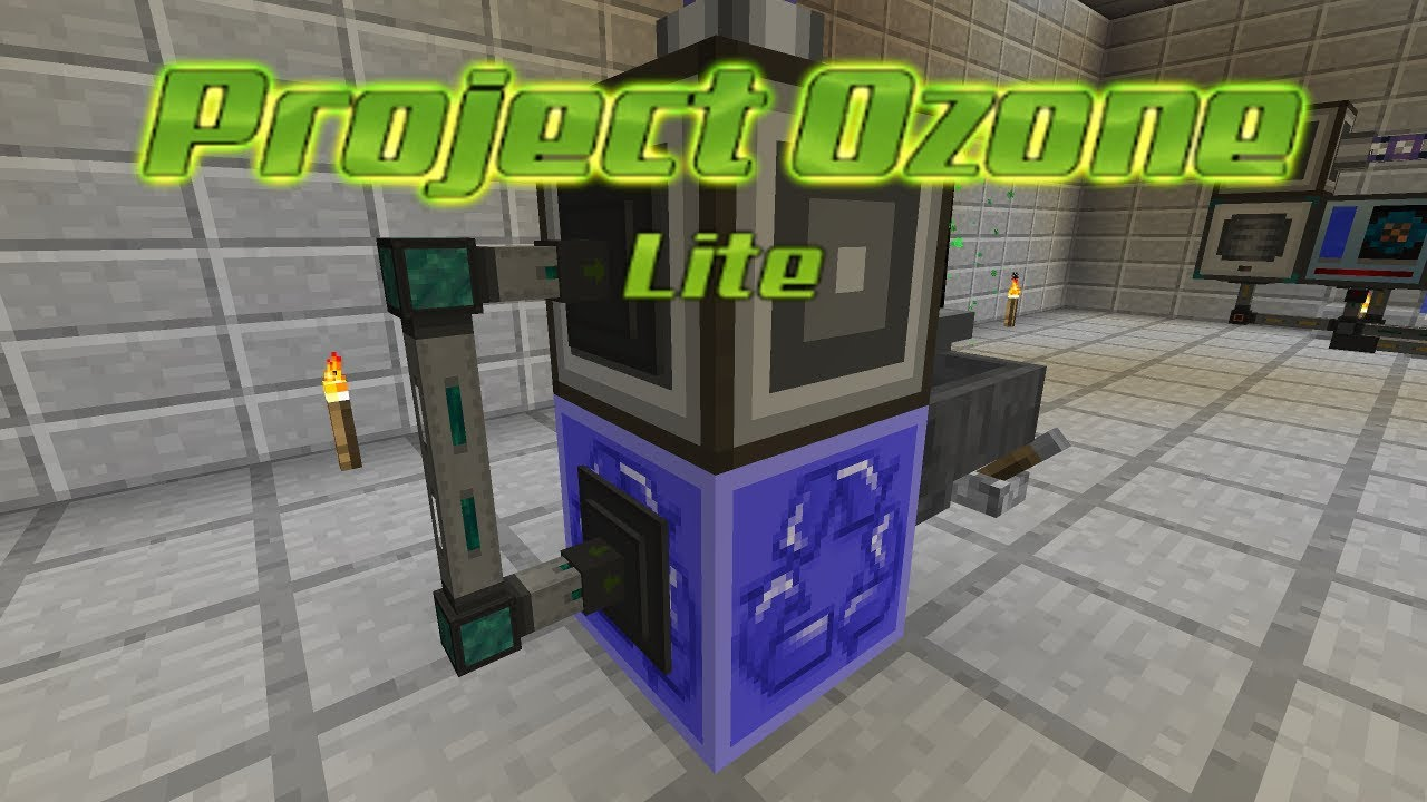 Project Ozone Lite - AUTOMATIC LOOT BAG [E24] (HermitCraft Server Modded  Minecraft Sky Block)